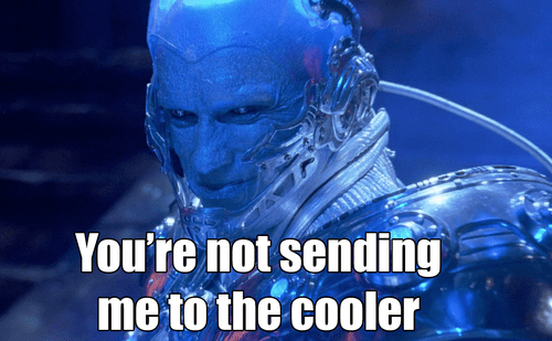 cooler puns mr freeze batman - 7240984064