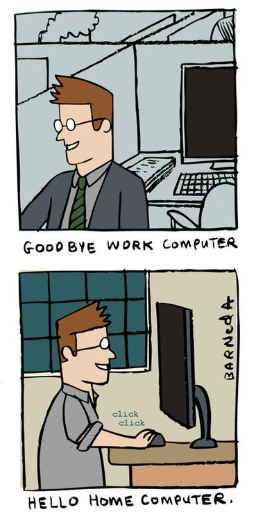 computers,work,comics,monday thru friday,g rated