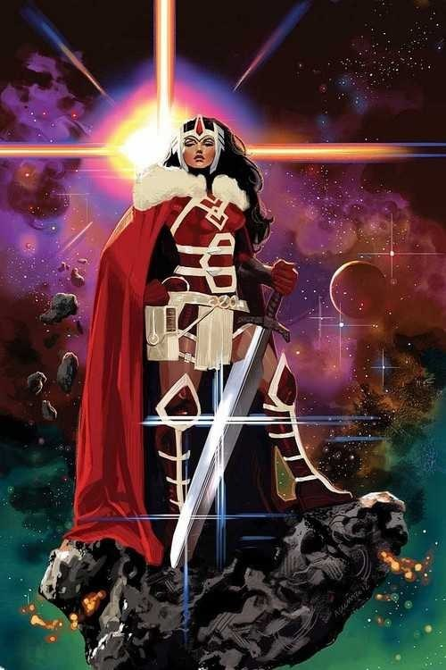 Thor art awesome lady sif - 7241039872