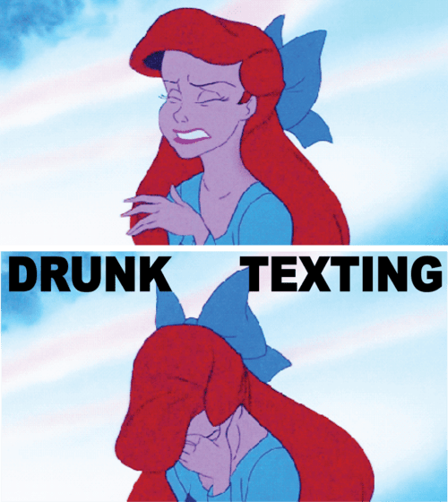 ariel Not Even Once drunk texting