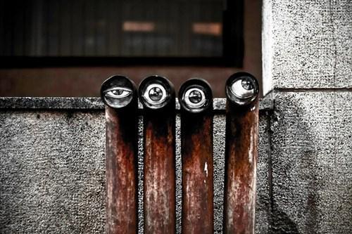 Street Art graffiti hacked irl - 7241328128