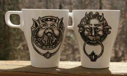 nerdgasm labyrinth mug - 7241332736