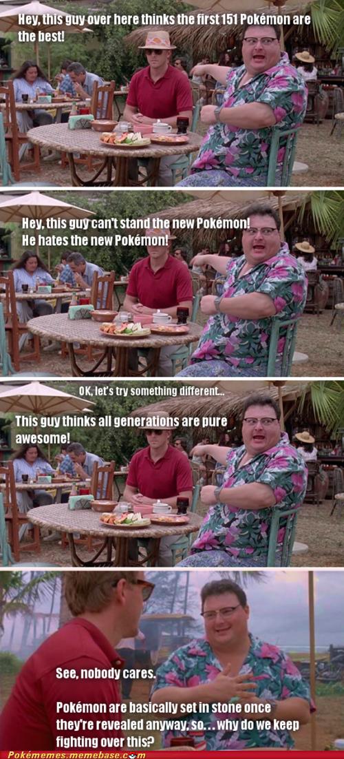new pokemon Pokémon gen wars jurassic park - 7241333504