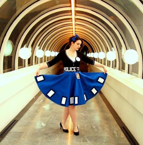 tardis nerdgasm doctor who dress - 7241335552