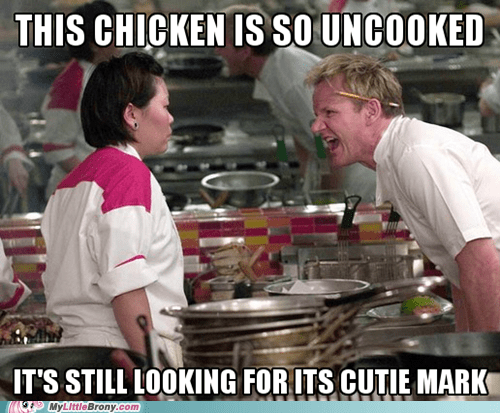 my little pony gordon ramsay Memes Scootaloo cutie marks - 7241346816