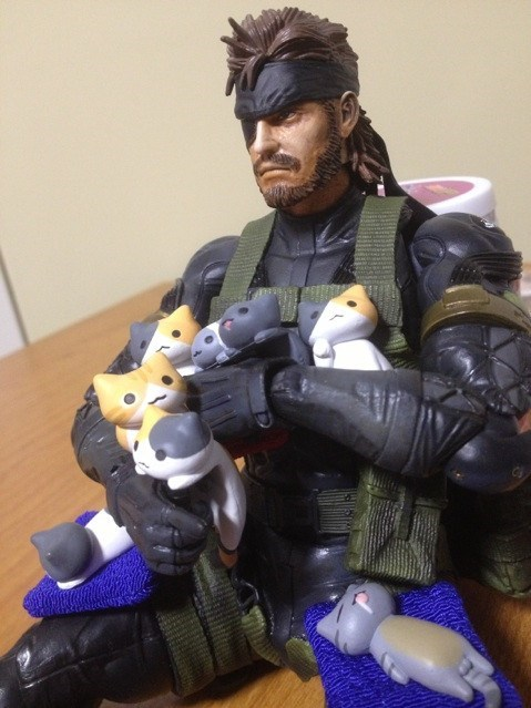 wtf,toys,cute,solid snake,Cats