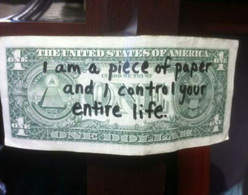 Sage Words, Dollar Bill