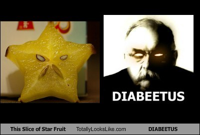 totally looks like,star fruit,wilford brimley