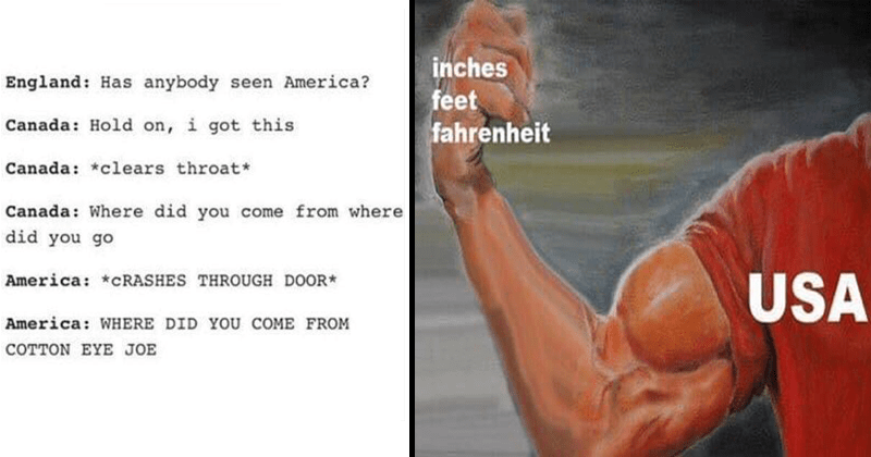 Funny memes and tumblr posts about america, americans.