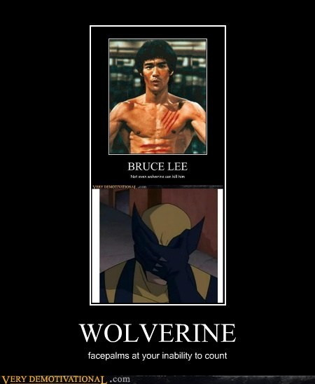 bruce lee,claws,wolverine