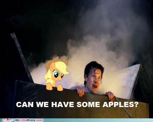 applejack doctor who - 7245023232