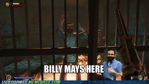 Billy Mays,bioshock infinite