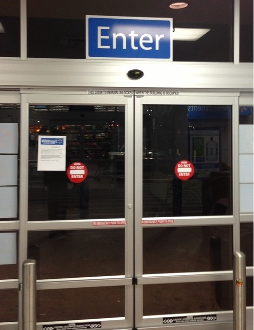 do not enter automatic doors exit enter sliding doors - 7245181440