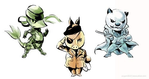 Pokémon art metal gear solid video games - 7245201152