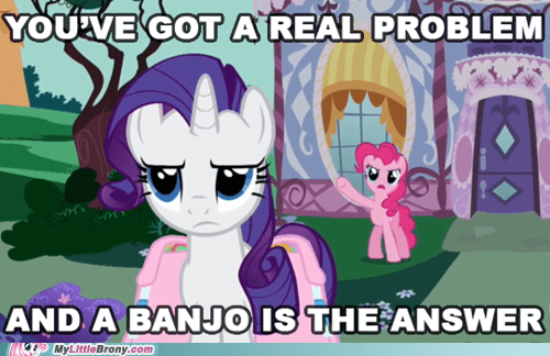 banjo pinkie pie rarity - 7245936128