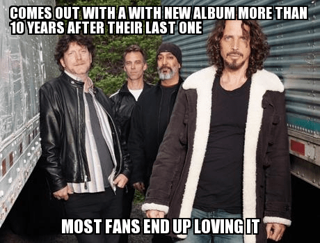 albums Soundgarden old bands - 7246130432