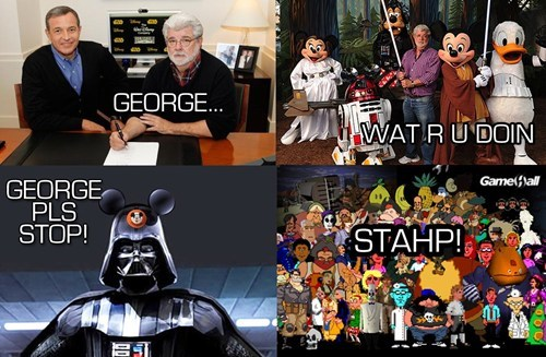 Sad,disney,star wars,lucasarts,rip,video games