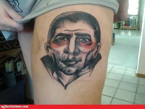 barack obama dracula leg tattoos vampires - 7246702592