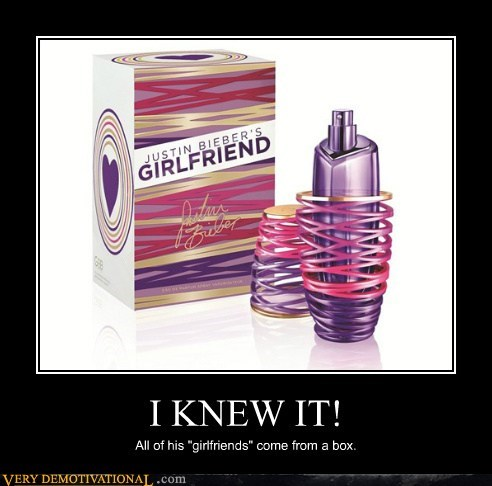 perfume girlfriend justin bieber