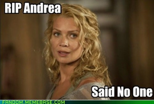 rip andrea The Walking Dead - 7251596544