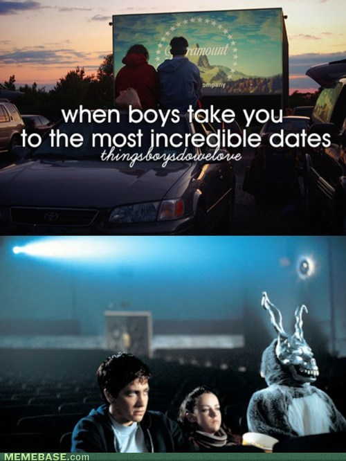 frank the bunny donnie darko things boys do