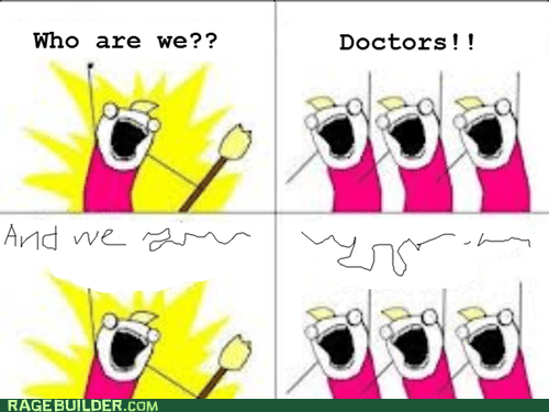 comic sans ms,all the things,doctors