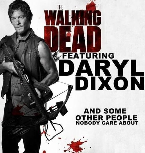 daryl dixon TV zombie The Walking Dead - 7254419712