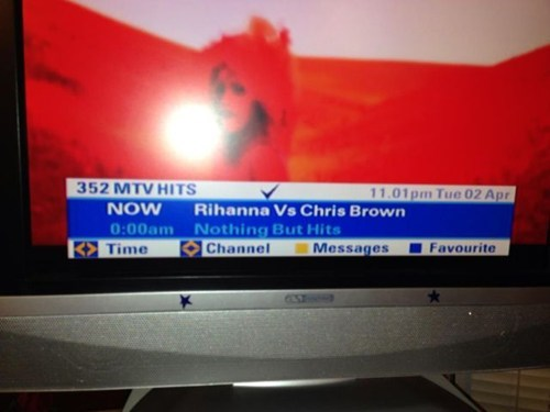chris brown tv shows rihanna