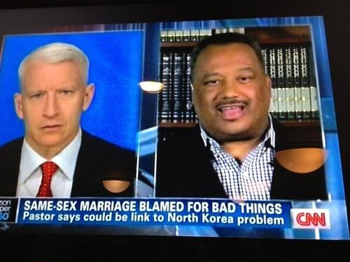 Anderson Cooper,cnn,gay marriage,North Korea