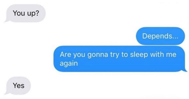 cringe Awkward conversation exes texting - 7255557