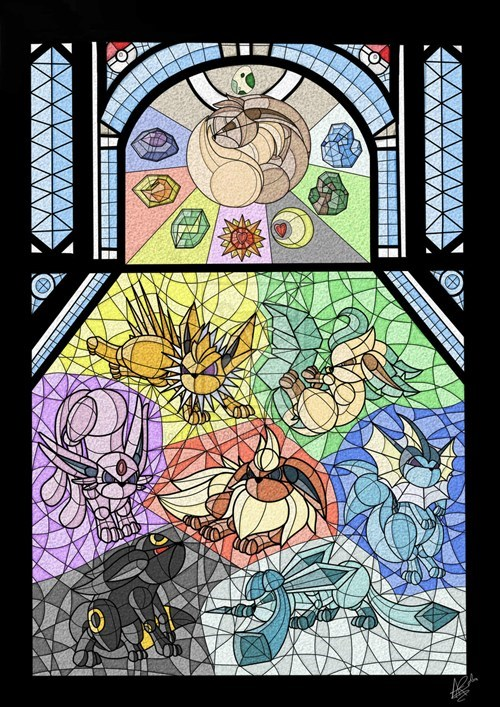 art church eeveelutions eevee - 7255601920