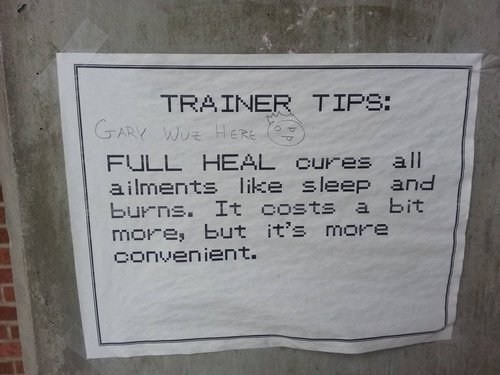 gary IRL trainer tips Pokémon - 7255705344