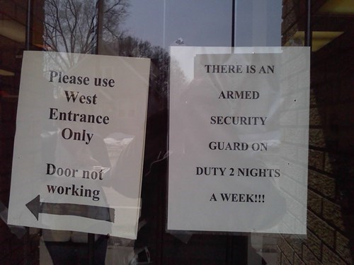 security,signs,there I fixed it