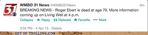 roger ebert living well Breaking News - 7255841024