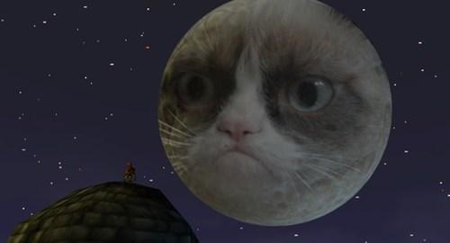 Grumpy Cat majoras mask zelda - 7256030720