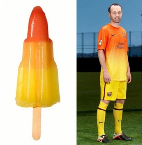 uniforms soccer popcicles