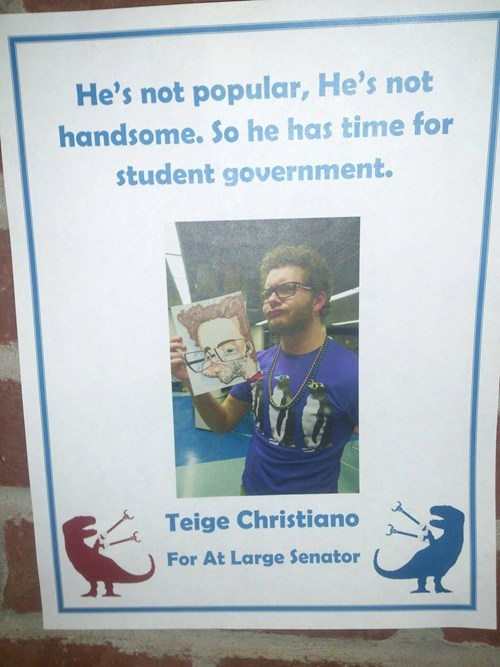handsome,free time,student government