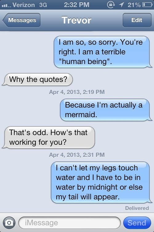 curse,iPhones,quotes,mermaid,g rated,AutocoWrecks
