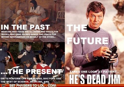 medicine,he's dead jim,Star Trek