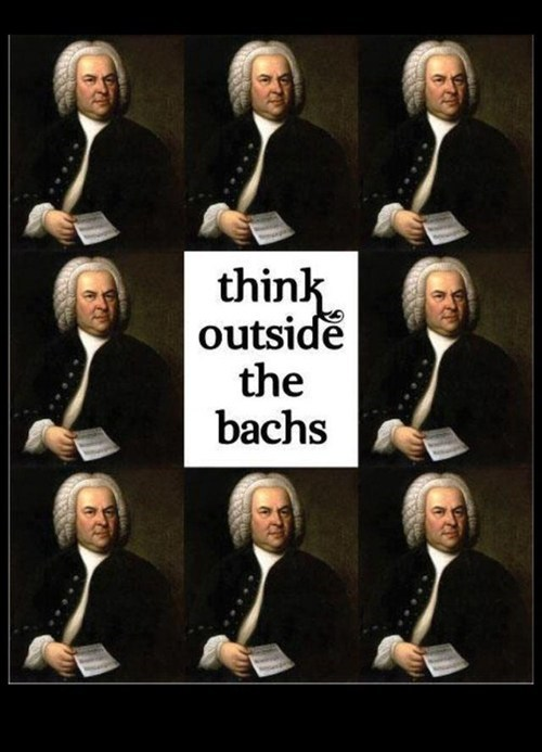 classical music johann sebastian bach puns - 7257137920