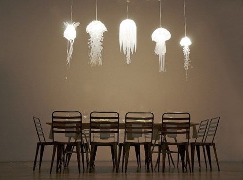 art,squid,lamp,design