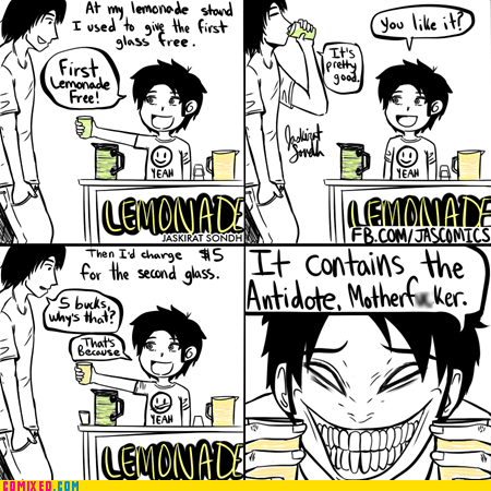 lemonade kids are evil antidote poison - 7257915392