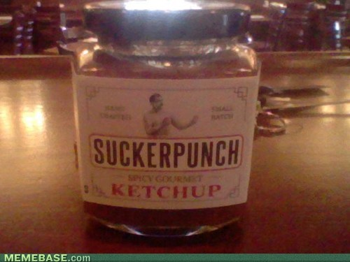 IRL ketchup overly manly man