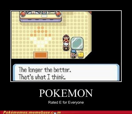 Pokémon innuendo if you know what i mean E for everyone - 7259207680