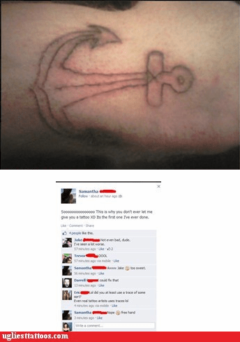 anchors,arm tattoos,facebook,scratcher tattoos