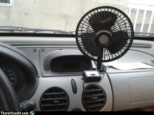 cars fans air conditioning