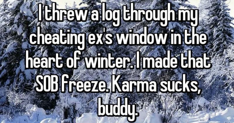 revenge on exes