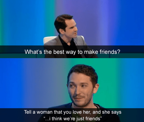 The Intentional Friendzone