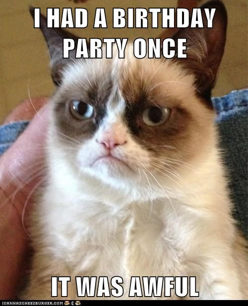 I Had A Birthday Party Once It Was Awful Cheezburger Funny Memes