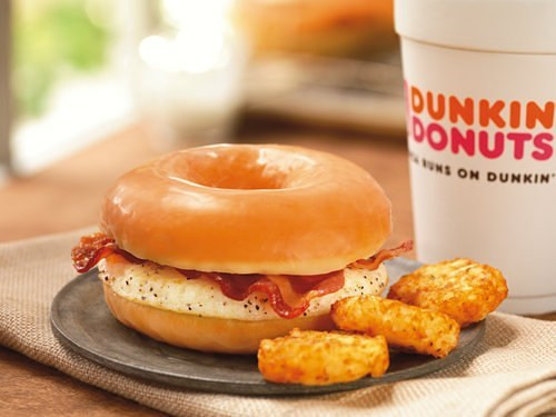 breakfast doughnut food - 7264741120